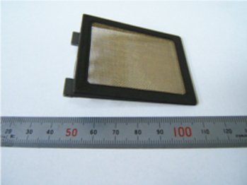 Composite product of Brass mesh + Metal frame + Rubber