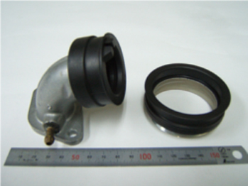 Composite product of Aluminum + Rubber